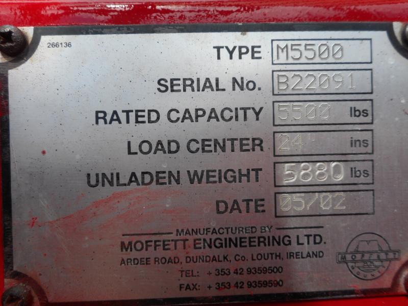 2002 Moffett M5500 10