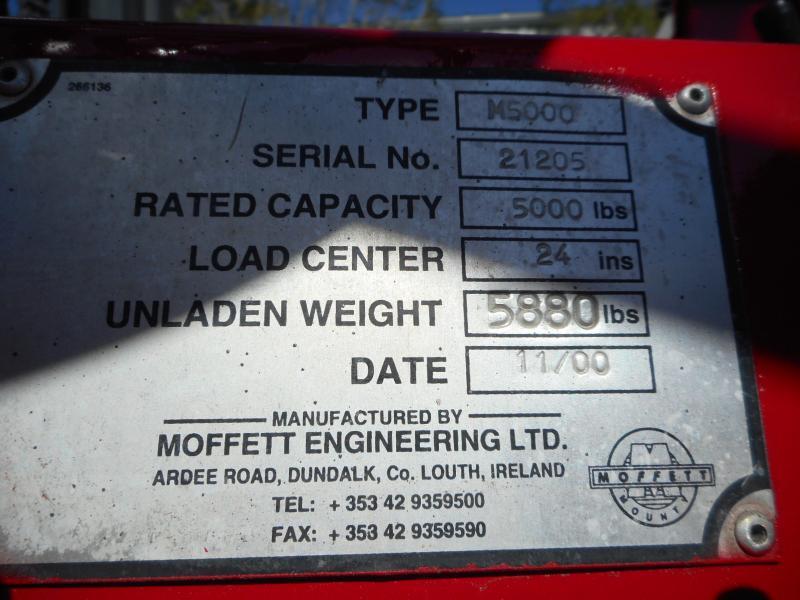 2000 Moffett M5500 7