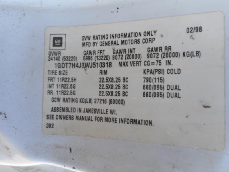 1998 GMC TOPKICK C8500 7