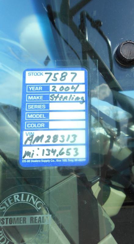 2004 Sterling LT7501 9