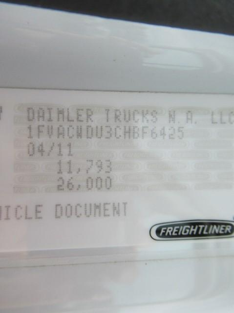 2012 Freightliner BUSINESS CLASS M2 106 14