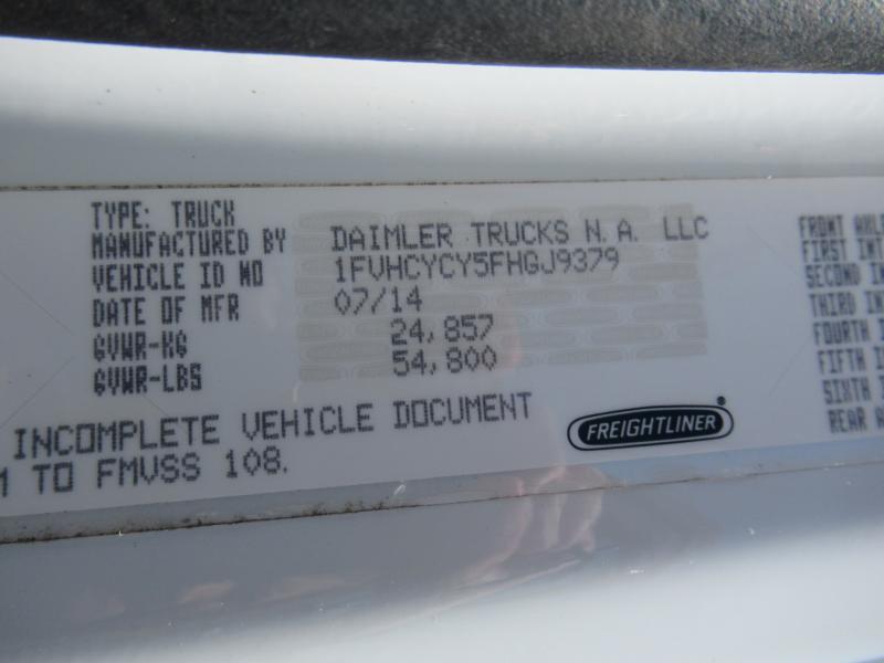 2015 Freightliner BUSINESS CLASS M2 106 10