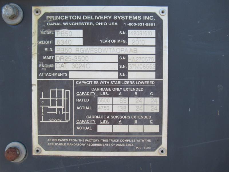 2010 Princeton PB50 13