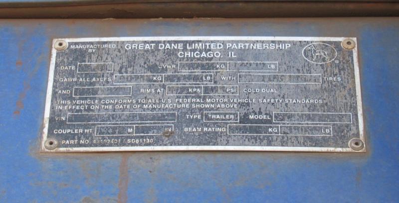 2002 Great Dane GPMS-245 9