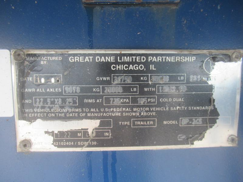 2006 Great Dane GP245 10