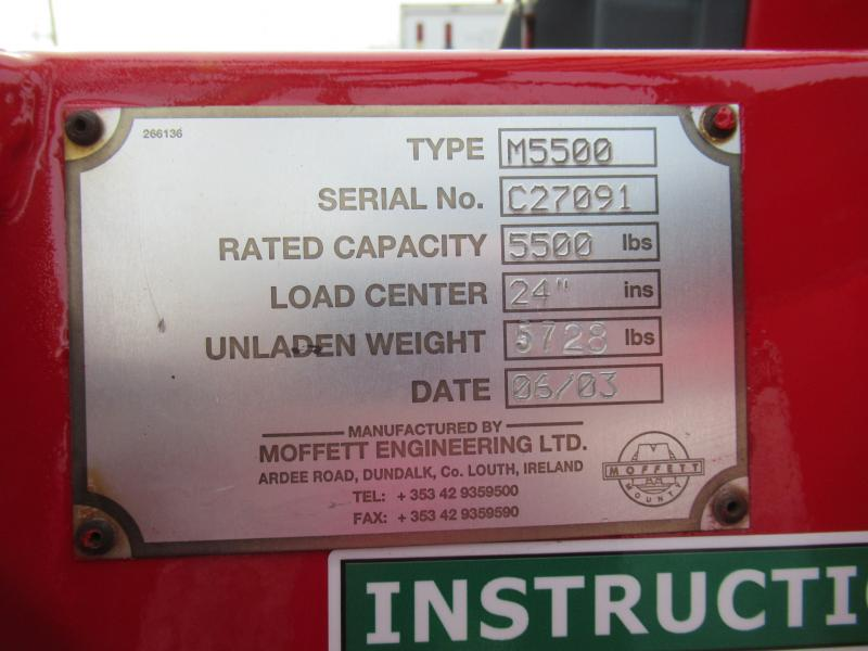 2003 Moffett M5500 12