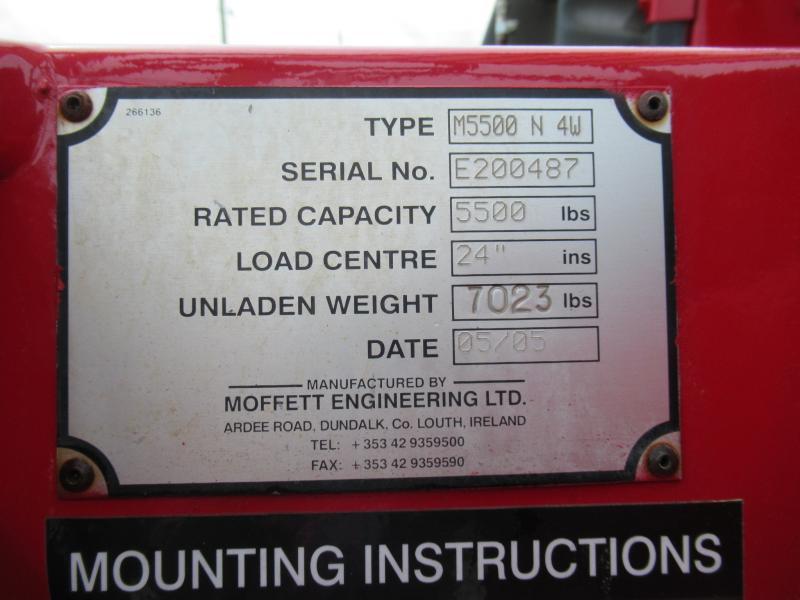 2005 Moffett M55004W 19