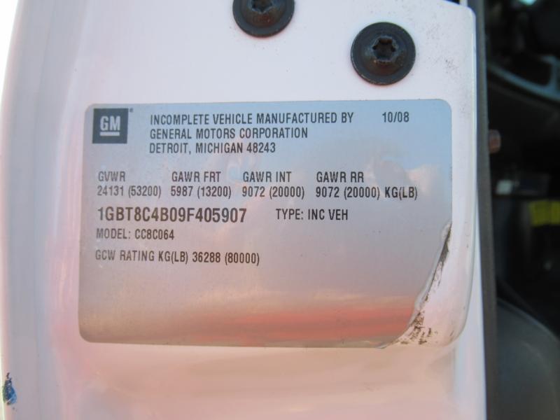 2009 Chevrolet KODIAK C8500 16