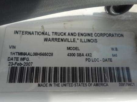 2007 International 4300 12