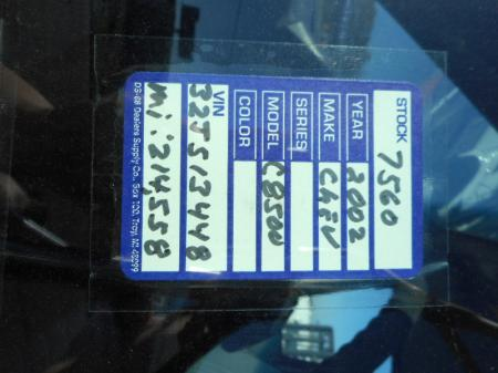 2002 Chevrolet KODIAK C7500 10