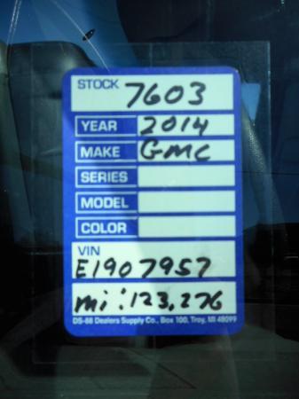 2014 GMC Savana G3500 Cutaway 10