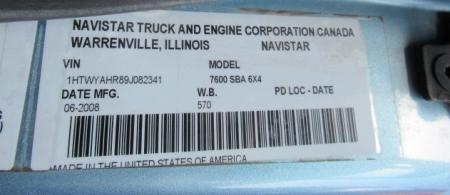 2009 International 7600 12