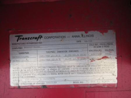 2003 TRANSCRAFT TL-80K 8