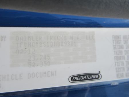 2013 Freightliner BUSINESS CLASS M2 106 15