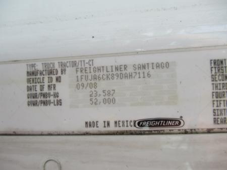 2009 Freightliner Columbia 120 7