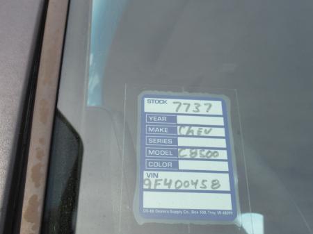 2009 Chevrolet KODIAK C8500 17