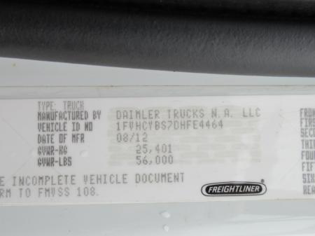 2013 Freightliner BUSINESS CLASS M2 106 16