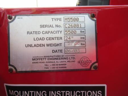 2003 Moffett M5500 13