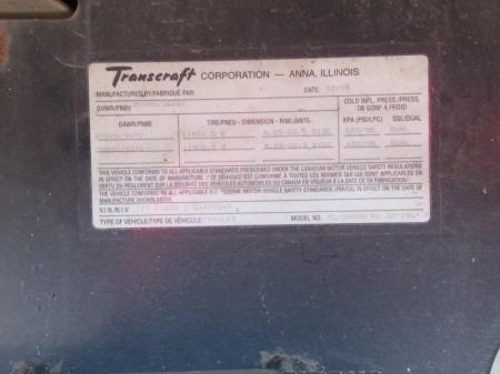 2005 TRANSCRAFT TL-2000N 10