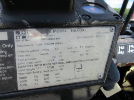 1998 HYSTER H500XL 14