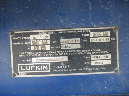 2006 LUFKIN FL-11 19
