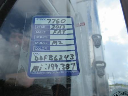 2013 Freightliner BUSINESS CLASS M2 106 14