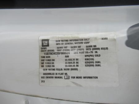 2005 Chevrolet KODIAK C8500 15