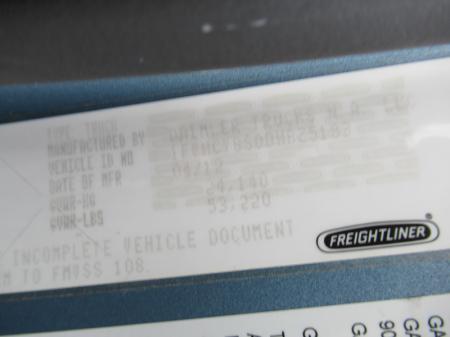 2013 Freightliner BUSINESS CLASS M2 106 18
