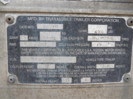 1999 TRAILMOBILE  6